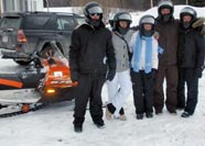Friends Gather for Snowmobiling Fun at 150 MAIN STREET